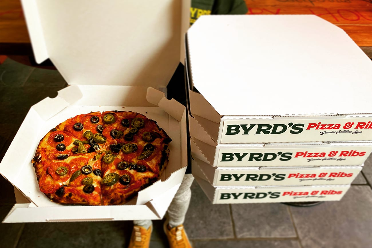 togo BYRD'S PIZZA & RIBS